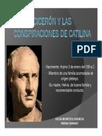 Unidad 7 Cicerón y las conspiraciones de Catilina - Lukas Montoya Valencia