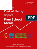 Free School Meals - London Cost of Living Report - FINAL