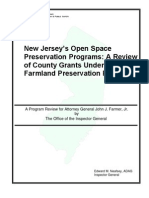 A Review of NJ Open Spaces Programs