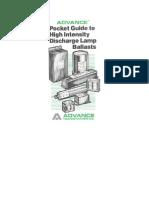 Advance HID Lamp Ballast Pocket Guide