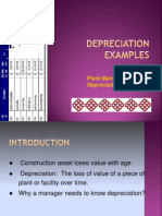 Add Topic Depreciation s