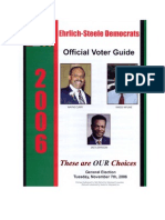 Ehrlich Steele Election Day 2006 Fake Flyer