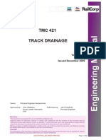 TMC 421 Railcorp Track Drainage