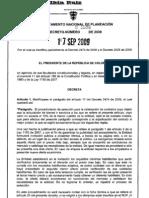 Decreto 3576 170909 modificación art 83 dto 2474 Contratacion