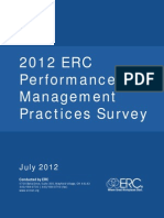 12 Performance Management Survey