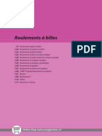Catalogue Roulement