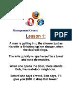 Five Minute Management Course