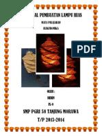 Proposal Pembuatan Lampu Hias