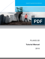3D2010 1 Tutorial Plaxis