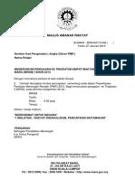 Template Surat Tawaran Pelajar Sedia Ada
