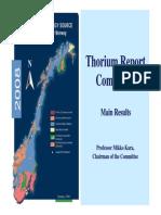 Thorium Report Committee