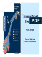 Thorium Report Committee
