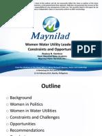 Women Water Utility Leadership