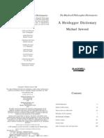 (Blackwell Philosopher Dictionaries) Michael Inwood-A Heidegger Dictionary-Wiley-Blackwell (1999)