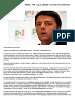 No Alla Truffa Di Renzi - Volantino