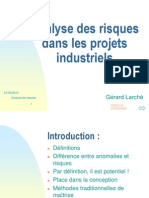 Analyse Risque s Projets Indus