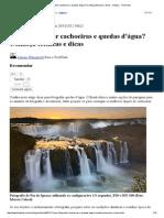 Quer fotografar cachoeiras e quedas d'água_ Conheça técnicas e dicas - Artigos - TechTudo