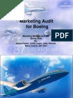 Marketing Presentation for Boeing