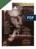 Agustín Millares Sall. El poeta es el pueblo