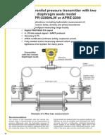 APRE-2200 Level Transmitter