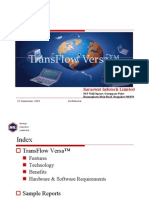 TransFlow Versa™ a Solution for Automating Business Processes
