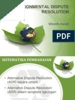 ADR hukum lingkungan
