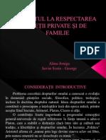 2 Dreptul La Respectarea Vietii Private