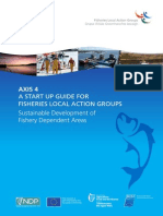 Start Up Guide for Fisheries Local Action Groups