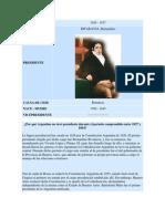 Listado Presidentes Argentina