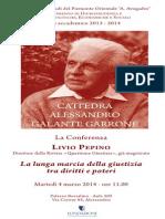 2014.03.04 Alessandria - La Lunga Marcia Della Giustizia