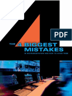 4 Biggest Mistakes in Instrumentation