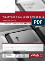 Turkey B2C E-Commerce Report 2014_Standard_by yStats