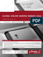 Global Online Gaming Market 2014_Standard_by yStats