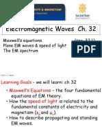 51 Ch32 EM Waves