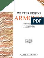 Walter Piston - Armonia Italiano