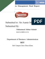 Mehtab Nestle Project