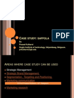 Strategic Brand Management case study