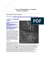 Evidence for Jesus and Parallel Pagan