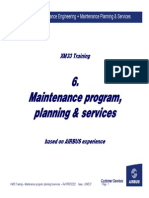 F-Maintenance Program Planning Services