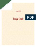 25 Lecture06 Design Loads