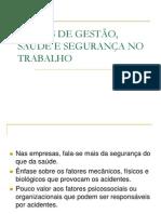 MODOS DE GESTÃO, SAÚDE E SEGURANÇA.ppt