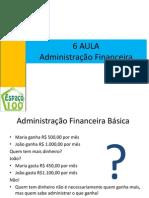 AULA ADMINISTRAÇÃO FINANCEIRA
