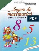 Culegere de matematică pentru clasa a III-a