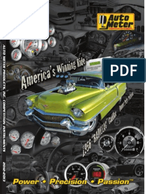 "2-1//16/"" NISSAN 240SX 95-98 S14 SINGLE Auto Meter for A-PILLAR POD"