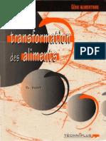 31619700 La Transformation Des Aliments Genie Alimentaire