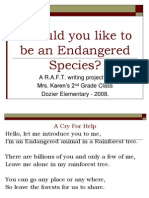 Endangered Species P.P. Karen Schex