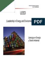 Conferencia LEED Ing. Hector Montoya