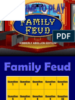 Family Fued Game for Corpcomm