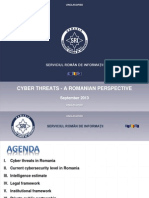 Cyber Threats - A Romanian Perspective