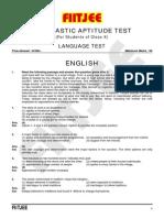 NTSE English